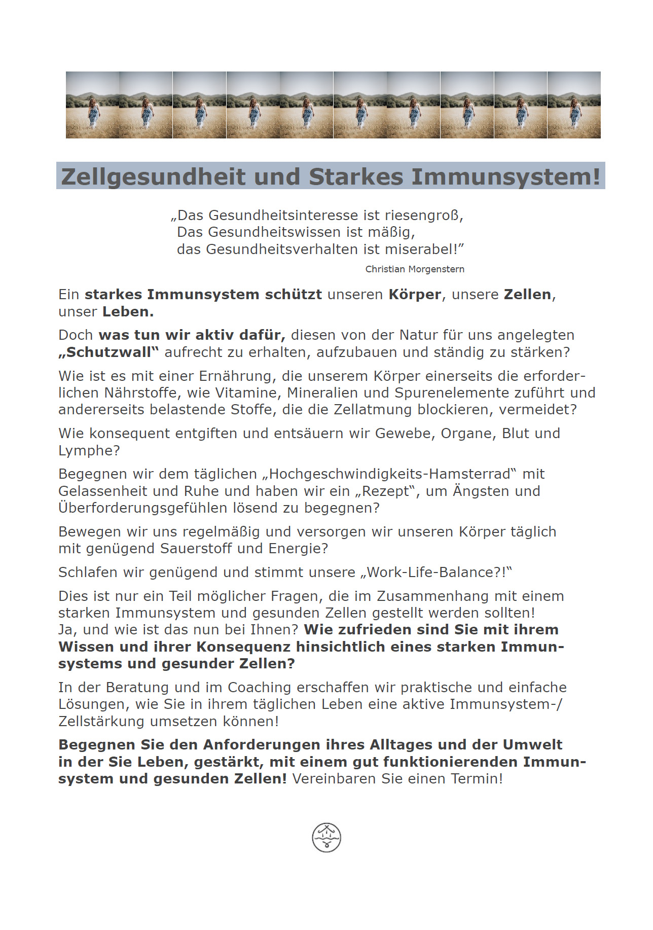 Zellgesundheit - Starkes Immunsystem